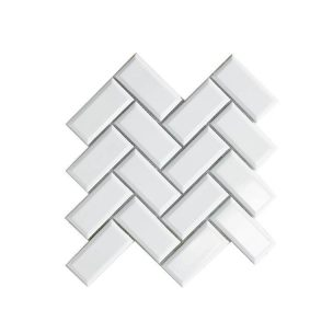 MOS BRICKELL CHEVRON 27.5*27.5 BLANCO